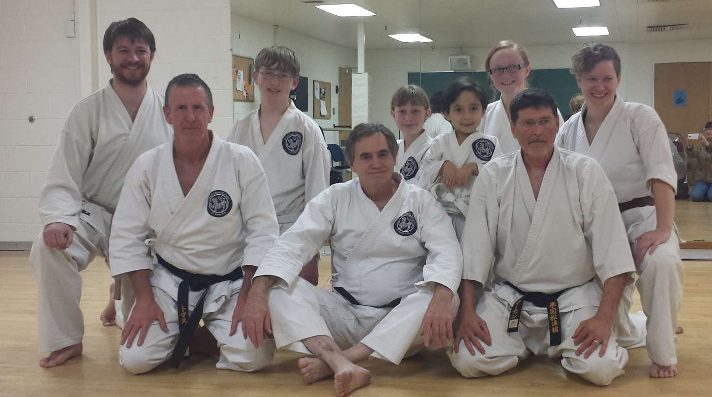 Salt Lake City Dojo. Kyu test November 2014.